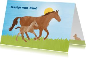 Kinderfeestjes - Kinderfeestje paarden