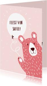 Kinderfeestjes - Kinderfeestje Roze Beer