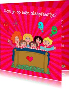 Kinderfeestjes - Kinderfeestje slaapfeest PA