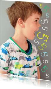 Kinderfeestjes - Kinderfeestje uitnodiging vijf