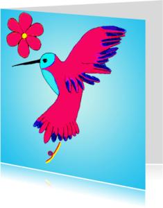 Dierenkaarten - Kolibrie