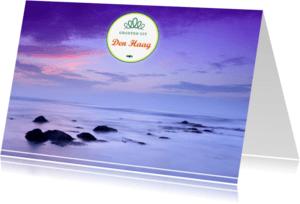 Ansichtkaarten - Langs het Scheveningse strand