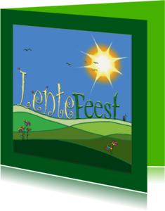 Communiekaarten - Lentefeest4
