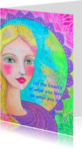 Religie kaarten - Let the beauty