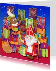 Sinterklaaskaarten - Leuke Sinterklaaskaart