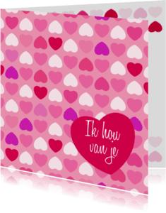 Liefde kaarten - Liefde hart3
