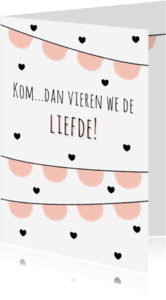Liefde kaarten - Liefdeskaart