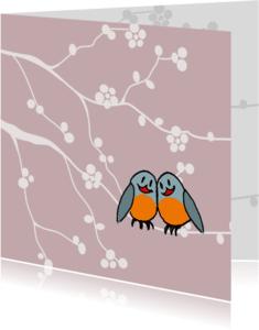 Dierenkaarten - liefste vogeltjes