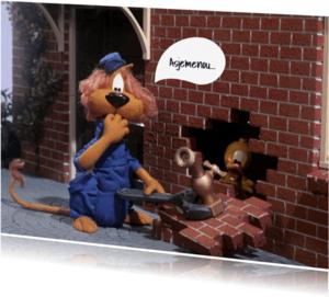 Verhuiskaarten - Loeki de Leeuw klusser