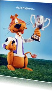 Kinderfeestjes - Loeki de Leeuw voetbal kampioen