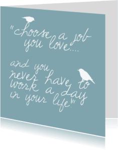 Coachingskaarten - love is work