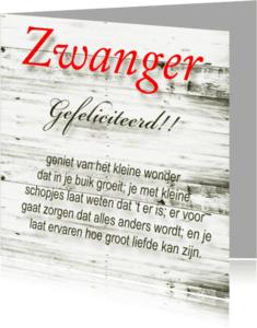 Felicitatiekaarten - made4you-zwanger