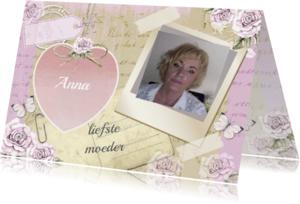 Moederdag kaarten - moederdag hart