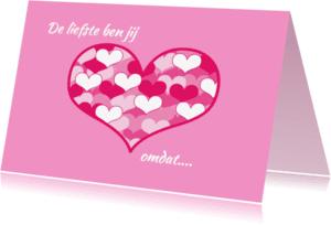 Moederdag kaarten - Moederdag kaart met hart