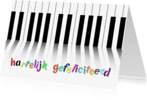 Verjaardagskaarten - Muziek met kleur