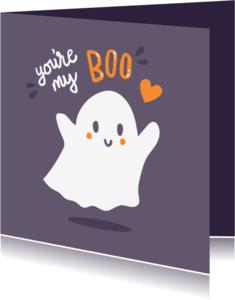 Halloween kaarten - My Boo