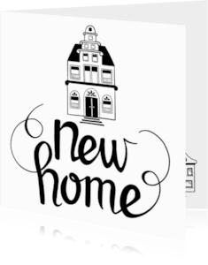 Felicitatiekaarten - New home - EM