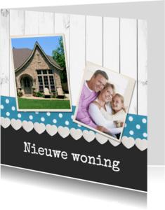 Felicitatiekaarten - Nieuwe woning veel geluk - DH