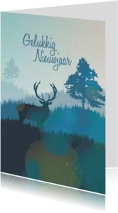 Nieuwjaarskaarten - Nieuwjaar - In the fields - MW