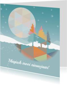 Nieuwjaarskaarten - Nieuwjaar - Magisch Nieuwjaar-MW