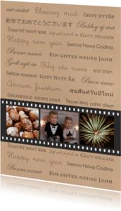 Nieuwjaarskaarten - Nieuwjaar negatief talen - BC