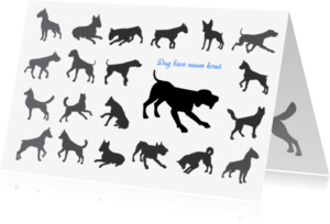 Condoleancekaarten - nr27-afscheid-hond