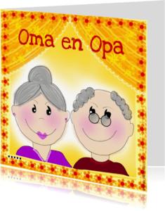 Felicitatiekaarten - Oma en Opa