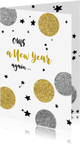 Nieuwjaarskaarten - OMG New Year again - OT