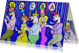 Verjaardagskaarten - Polonaise voor de jarige