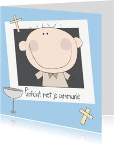 Felicitatiekaarten - Proficiat met je communie 2