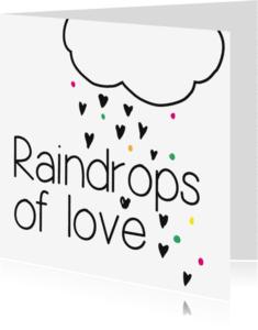 Zomaar kaarten - Raindrop of love