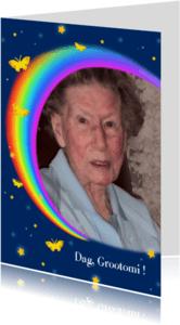 Rouwkaarten - rouw Regenboog verlies