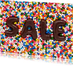 Kaarten mailing - SALE op discodip