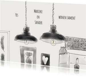 Samenwonen kaarten - Samenwonen - Lampen
