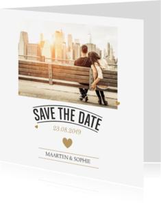 Trouwkaarten - Save the Date Kerstkaart 02