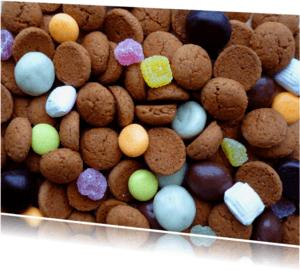 Sinterklaaskaarten - Sint Pepernoten Strooigoed