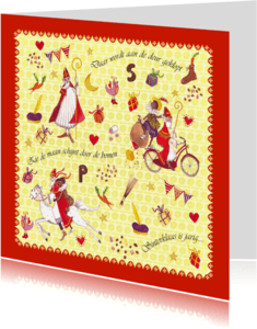 Sinterklaaskaarten - Sinterklaas 5 december Cartita Design