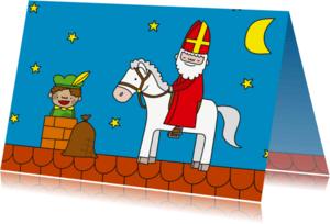Sinterklaaskaarten - Sinterklaas Amerigo