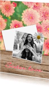 Vriendschap kaarten - Sister love - DH