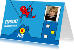 Kinderfeestjes - spiderman feest jongen