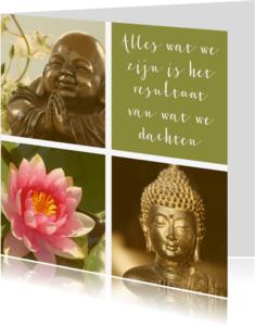 Religie kaarten - Spirituele kaart Boeddha quote 2