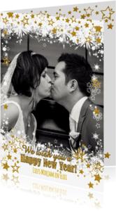 Nieuwjaarskaarten - Sprankelende nieuwjaarskaart S