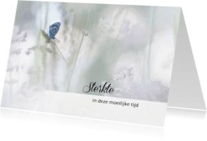 Sterkte kaarten - Sterkte - vlinder