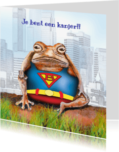 Sterkte kaarten - Sterktekaart met Superman..!
