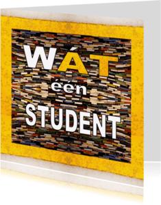 Geslaagd kaarten - Student Biertje - AW