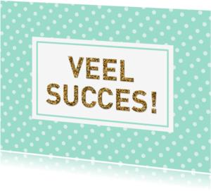 Succes kaarten - Succes mint dots