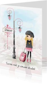 Succes kaarten - Succeskaart studie - studente