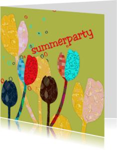 Bloemenkaarten - Summerparty2