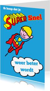 Beterschapskaarten - supersnel beterschap blond
