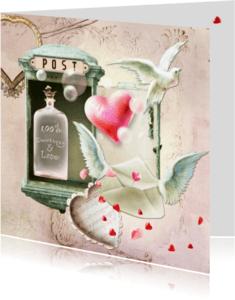 Trouwkaarten - Sweetness and Love - SG